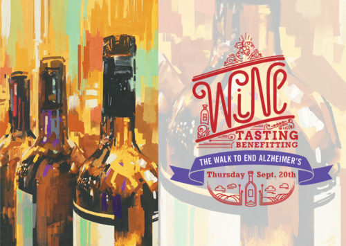 WINE TASTING – BENEFITTING THE WALK TO END ALZHEIMER'S