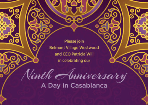 NINTH ANNIVERSARY – A DAY IN CASABLANCA
