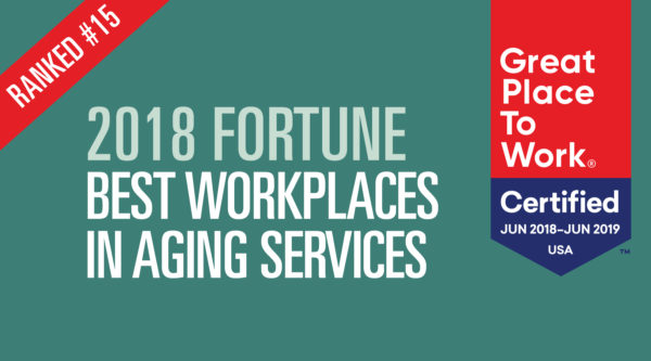 Belmont Village Named one of the Best Workplaces for Aging Services