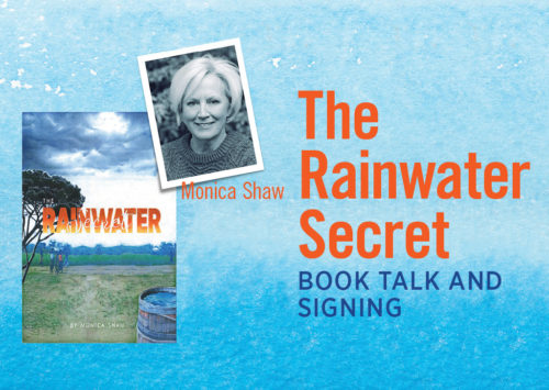 The Rainwater Secret – Book Talk and Signing
