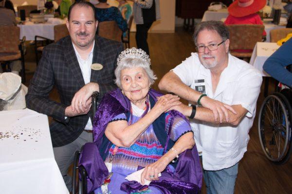 Belmont Village Honors Felicia Riccio