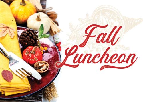Fall Luncheon