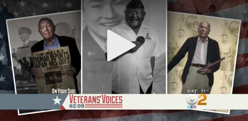 KCAL's coverage of Belmont Village Senior Living's most recent veterans photo shoot in Rancho Palos Verdes