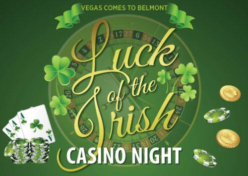 LUCK OF THE IRISH CASINO NIGHT