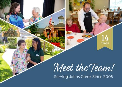 Meet the Team! Serving Johns Creek Since 2005