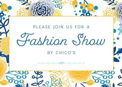 Spring Fashion Show and Fundraiser