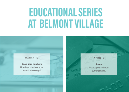Educational Series at Belmont Village