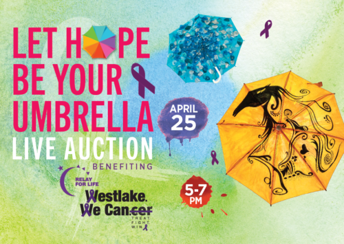 LET HOPE BE YOUR UMBRELLA – LIVE AUCTION