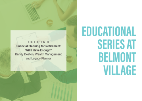 Educational Series at Belmont Village