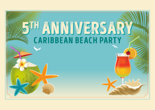 5TH ANNIVERSARY CARIBBEAN BEACH PARTY
