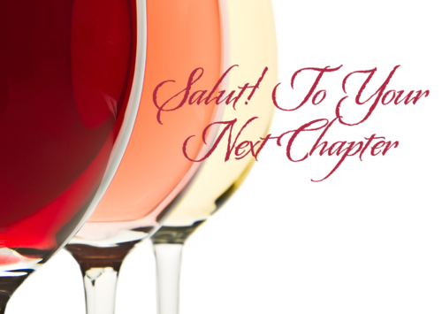 Salut! To Your Next Chapter