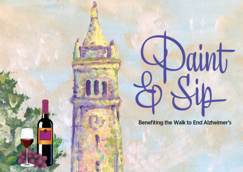 Paint & Sip – Benefiting the Walk to End Alzheimer's