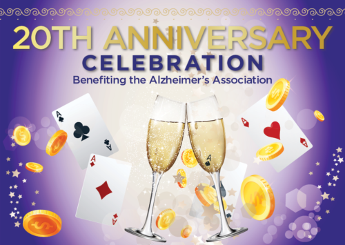 20TH ANNIVERSARY CELEBRATION – Benefiting the Alzheimer's Association
