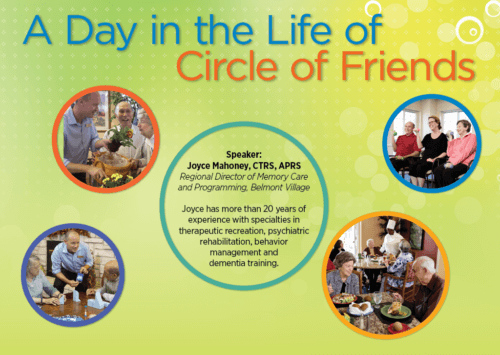 A DAY IN THE LIFE OF CIRCLE OF FRIENDS