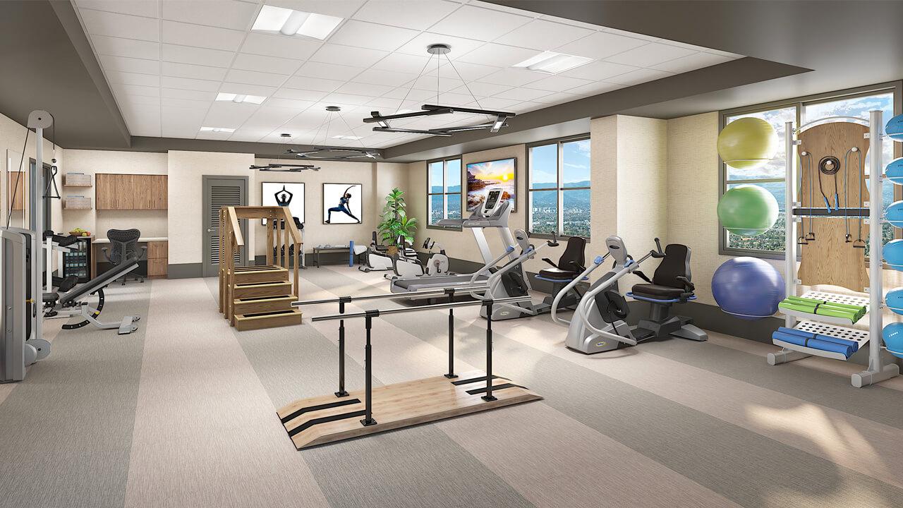 Los Gatos - Fitness Center