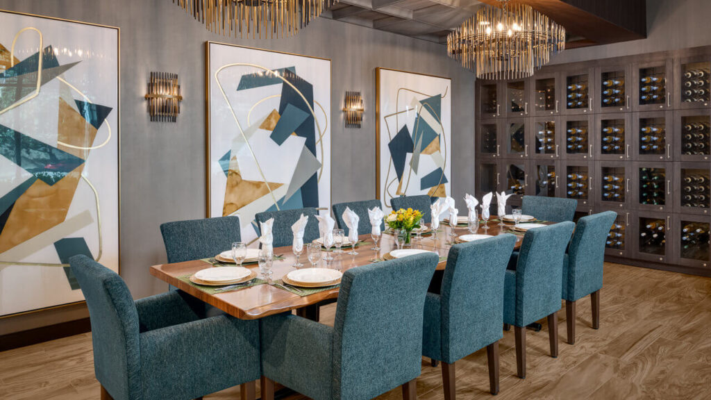 Westwood dining room