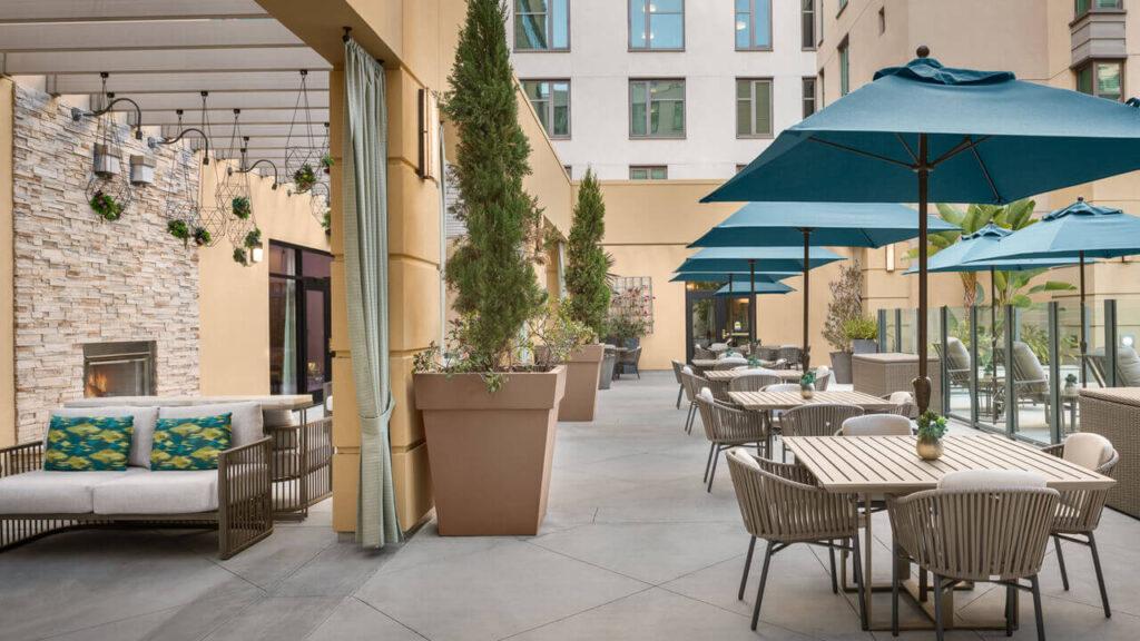 Westwood patio 1